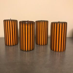 4 PartyLite Halloween Candles